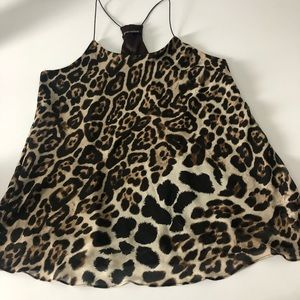 Foreign Exchange Leopard Animal Print Top 🐆